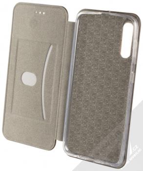 Forcell Elegance Book flipové pouzdro pro Samsung Galaxy A50 černá (black) otevřené