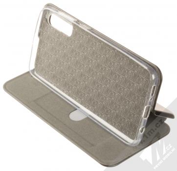 Forcell Elegance Book flipové pouzdro pro Samsung Galaxy A50 černá (black) stojánek