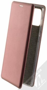 Forcell Elegance Book flipové pouzdro pro Samsung Galaxy A71 tmavě červená (dark red)