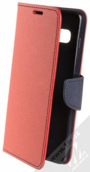 Forcell Fancy Book flipové pouzdro pro Samsung Galaxy S10 Plus červená modrá (red blue)
