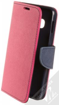 Forcell Fancy Book flipové pouzdro pro Samsung Galaxy S10e růžová modrá (pink blue)