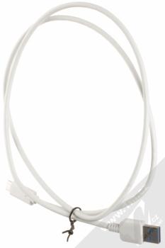Forcell Impulse USB Car Charger nabíječka do auta s USB výstupem a Forcell TYP-C 3.0 USB kabel s USB Type-C bílá (white) USB kabel komplet