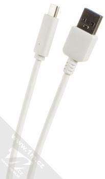 Forcell Impulse USB Car Charger nabíječka do auta s USB výstupem a Forcell TYP-C 3.0 USB kabel s USB Type-C bílá (white) USB kabel konektory