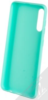 Forcell Jelly Matt Case TPU ochranný silikonový kryt pro Samsung Galaxy A50 mátově zelená (mint green) zepředu