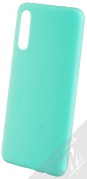 Forcell Jelly Matt Case TPU ochranný silikonový kryt pro Samsung Galaxy A50 mátově zelená (mint green)