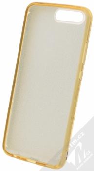 Forcell Shining třpytivý ochranný kryt pro Huawei P10 zlatý (gold) zepředu