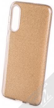 Forcell Shining třpytivý ochranný kryt pro Samsung Galaxy A50, Galaxy A30s zlatá (gold)