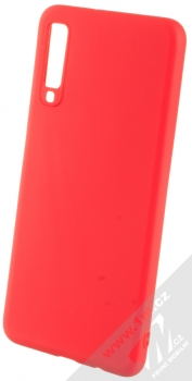 Forcell Soft Case TPU ochranný silikonový kryt pro Samsung Galaxy A7 (2018) červená (red)