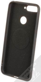 Forcell Soft Magnet Case TPU ochranný kryt podporující magnetické držáky pro Huawei Y6 Prime (2018), Honor 7A černá (black) zepředu