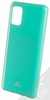 Goospery Jelly Case TPU ochranný kryt pro Samsung Galaxy A51 mátově zelená (mint green)