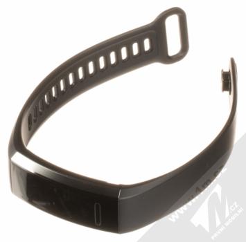 Huawei Band 2 Pro chytrý fitness náramek s GPS a senzorem srdečního tepu černá (black) rozepnuté