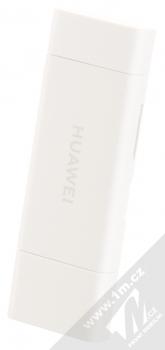 Huawei CF22R 2-in-1 Memory Card Reader originální čtečka microSD a NM Card karet s USB a Type-C konektory bílá (white)