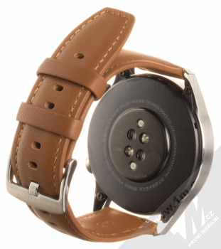 Huawei Watch GT 2 chytré hodinky hnědá (pebble brown) zezadu