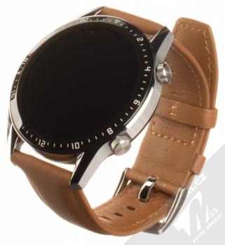 Huawei Watch GT 2 chytré hodinky hnědá (pebble brown)