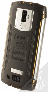 iGET Blackview GBV6800 Pro žlutá (yellow) šikmo zezadu