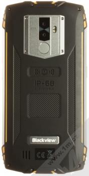iGET Blackview GBV6800 Pro žlutá (yellow) zezadu