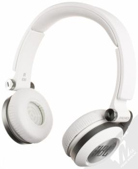 JBL Synchros E30 sluchátka s mikrofonem a ovladačem bílá (white)