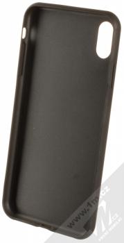 Karl Lagerfeld Ikonik ochranný kryt s motivem pro Apple iPhone XS Max (KLHCI65IKPUBL) tmavě modrá (dark blue) zepředu