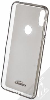 Kisswill TPU Open Face silikonové pouzdro pro Motorola One černá průhledná (black) zepředu