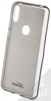 Kisswill TPU Open Face silikonové pouzdro pro Motorola One černá průhledná (black)