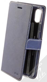 Molan Cano Issue Diary flipové pouzdro pro Apple iPhone XR tmavě modrá (navy blue)