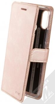 Molan Cano Issue Diary flipové pouzdro pro Huawei Nova 3i růžově zlatá (rose gold)