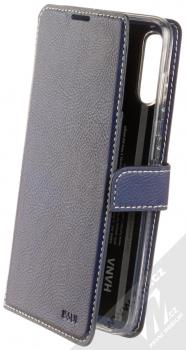 Molan Cano Issue Diary flipové pouzdro pro Samsung Galaxy A70 tmavě modrá (navy blue)