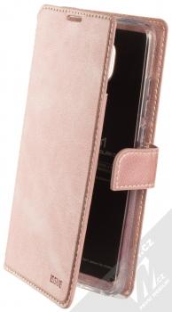 Molan Cano Issue Diary flipové pouzdro pro Xiaomi Redmi 8A růžově zlatá (rose gold)