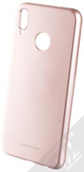 Molan Cano Jelly Case TPU ochranný kryt pro Honor 8X růžově zlatá (rose gold)