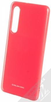 Molan Cano Jelly Case TPU ochranný kryt pro Huawei P30 sytě růžová (hot pink)