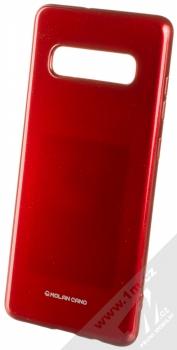 Molan Cano Jelly Case TPU ochranný kryt pro Samsung Galaxy S10 Plus červená (red)