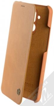 Nillkin Qin flipové pouzdro pro Huawei Mate 20 Lite hnědá (brown)