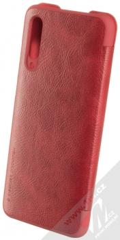 Nillkin Qin flipové pouzdro pro Xiaomi Mi 9 Lite červená (red) zezadu