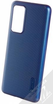 Nillkin Super Frosted Shield ochranný kryt pro Huawei P40 modrá (peacock blue)