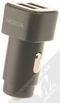 Nokia DC-301 Double USB nabíječka do auta s 2x USB výstupem černá (black)