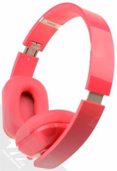 Nokia WH-930 Purity HD by Monster luxusní stereo sluchátka růžová (fuchsia) detail