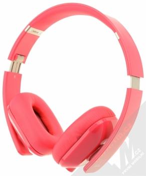 Nokia WH-930 Purity HD by Monster luxusní stereo sluchátka růžová (fuchsia) zepředu