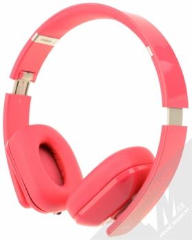 Nokia WH-930 Purity HD by Monster luxusní stereo sluchátka růžová (fuchsia) zezadu
