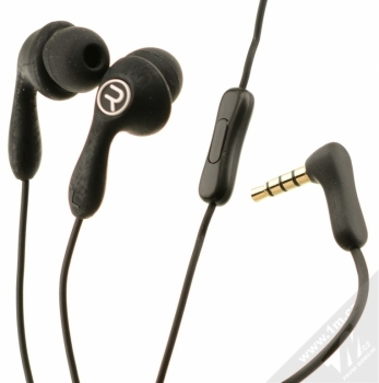 Remax Candy RM-505 sluchátka s mikrofonem a ovladačem černá (black)