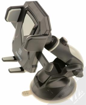 Remax RM-C26 Transformer univerzální držák do auta s přísavkou pro mobilní telefon, mobil, smartphone černá šedá (black grey)