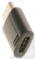 Samsung EE-GN930BB originální miniaturní redukce z USB Type-C na microUSB černá (black) konektor
