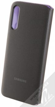 Samsung EF-WA307PB Wallet Cover originální flipové pouzdro pro Samsung Galaxy A30s černá (black) zezadu