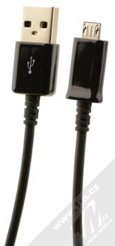 Samsung EP-LN930CB originální nabíječka do auta Fast Charge s USB výstupem a Samsung ECB-DU4EBE USB kabel s microUSB konektorem černá (black) USB kabel