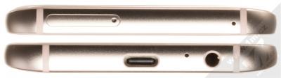 SAMSUNG SM-A520F GALAXY A5 (2017) růžová (peach cloud) seshora a zezdola