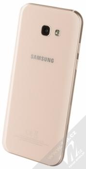 SAMSUNG SM-A520F GALAXY A5 (2017) růžová (peach cloud) šikmo zezadu