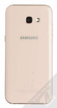 SAMSUNG SM-A520F GALAXY A5 (2017) růžová (peach cloud) zezadu