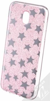 Sligo Glitter Stars třpytivý ochranný kryt pro Samsung Galaxy J5 (2017) růžová (pink)