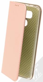 Sligo Smart Magnet flipové pouzdro pro LG G6 růžově zlatá (rose gold)
