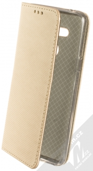 Sligo Smart Magnet flipové pouzdro pro LG G8 ThinQ zlatá (gold)