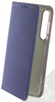 Sligo Smart Magnet flipové pouzdro pro Moto G8 Plus tmavě modrá (dark blue)